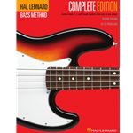 Hal Leonard Electric Bass Method Complete Edition  Electric Bass