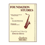 Foundation Studies for Saxophone 3 Saxophone