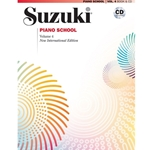 Suzuki Piano School 4 NIE w/CD  Piano