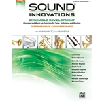Sound Innovations for Concert Band: Ensemble Development for Intermediate Concert Band - 1st Alto Saxophone Intermediate