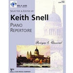 Piano Repertoire: Baroque & Classical 5 Piano