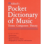 Alfred's Pocket Dictionary Of Music  All Instruments