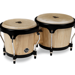 "LP Aspire Wood Bongos - 6 3/8"" - 8"""