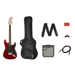 Squier HSS Strat Pack w/15G Amp and Bag
