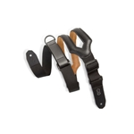"""Right Height"" Guitar Strap - Garment Leather Split Body Strap 3"" Wide"