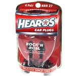 Hearos H309 Rock 'N Roll Ear Plugs