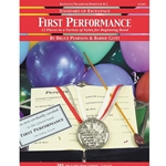 Standard of Excellence: First Performance - Bassoon/Trombone/Baritone BC 1.5