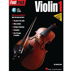Fast Track Violin Method Book 1  Violin