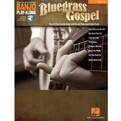 Banjo Play Along Bluegrass Gospel  Banjo