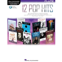 12 Pop Hits - Includes Audio Access  Flute