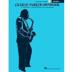 Charlie Parker Omnibook Volume 1 - Audio Access Included  C Inst