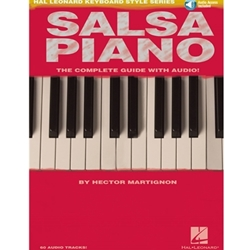Salsa Piano The Complete Guide With Audio  Piano