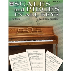Scales and Pieces in all Keys Book 1 Elementary Method