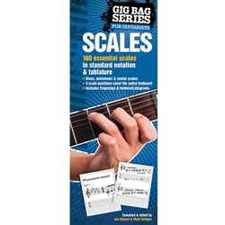 Gig Bag Book of Scales for all Guitarist  Guitar