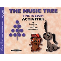 Music Tree Time to Begin Activites