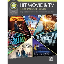 Hit Movie & TV Instrumental Solos Book & CD 2-3
