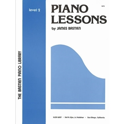 Bastien Piano Library Lessons 2